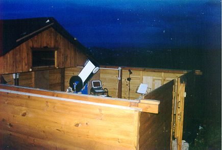 Construction Of A Roll Off Roof Observatory Atm Pages Of